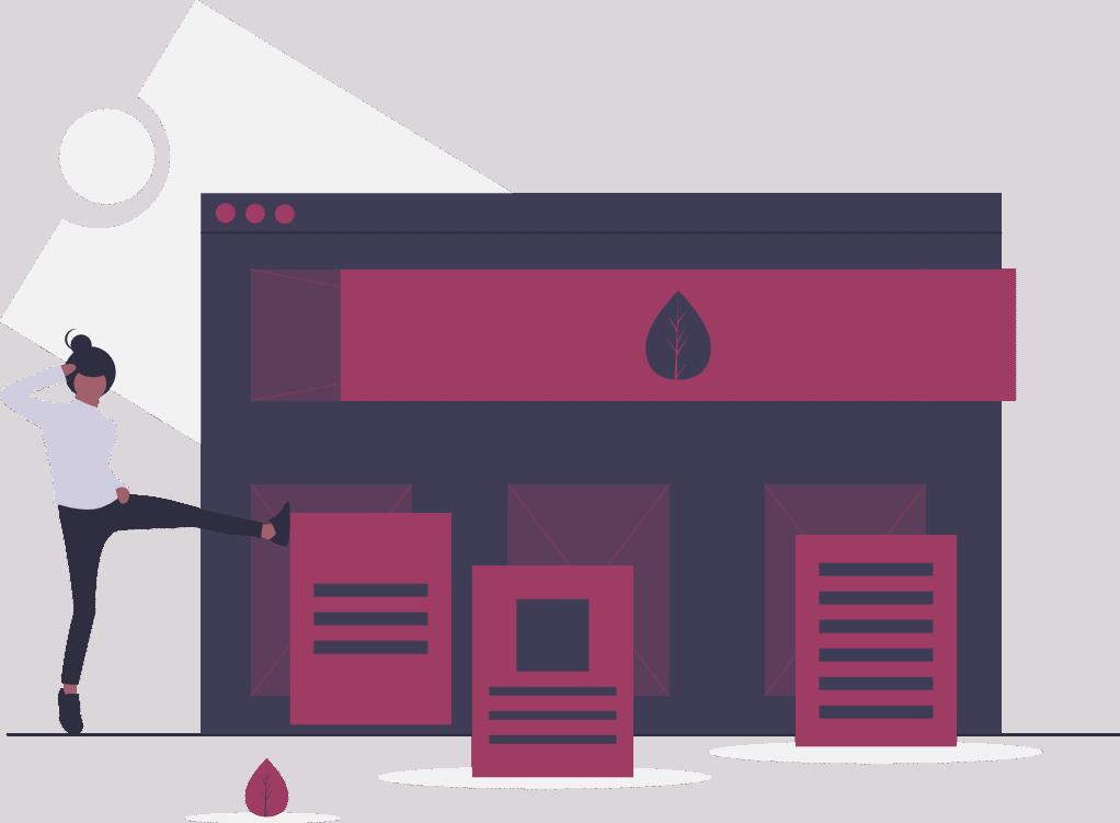 website management icon